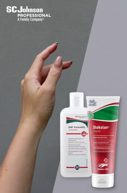 W czasie zimy mamy suche dłonie. Dłonie są jeszcze bardziej suche przez częste dezynfekowanie i mycie.