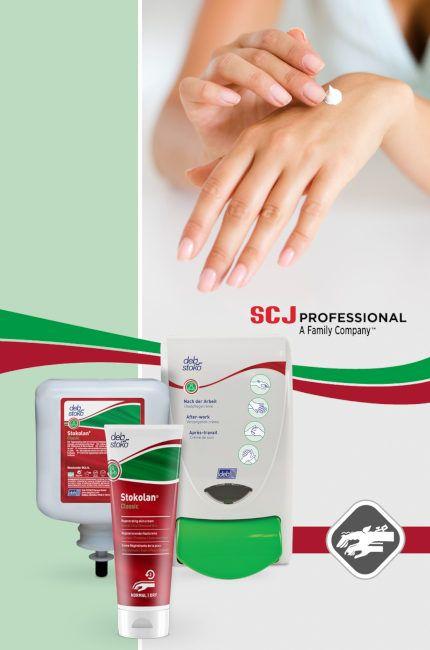 pielęgnacja suchej skóry w miejscu pracy